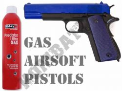 Airsoft Gas Pistols